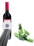Target bottle wine Stock Photo