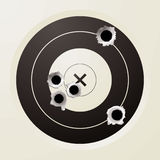 Target bullet Royalty Free Stock Images