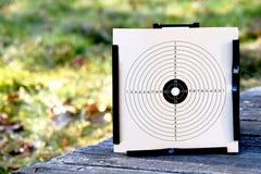 Target bullseye paper outdoors royalty free stock image