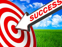 Target business Stock Images