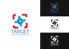 Target - business success Royalty Free Stock Image