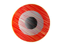 Target button. Abstract target button vector illustration Stock Photos