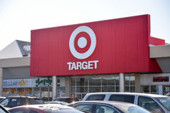 Target Canada liquidation sales begin Thursday. Royalty Free Stock Photo