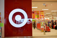 Target Canada liquidation sales begin Thursday. Stock Photos