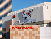 Target Center Exterior Royalty Free Stock Photo