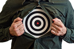 Target chest Stock Images