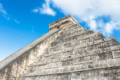 target2221_1_ chichen dziejowego itza majowia Mexico ostrosłup Zdjęcie Royalty Free