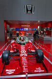 Target Chip Ganassi Indy Car. May be used to advertise for an upcoming car showor race car event royalty free stock photography
