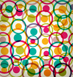 Target circles seamless background Stock Photography