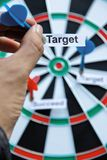 Target concept. Concept image of business target Stock Images