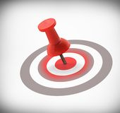 Target concept Royalty Free Stock Images
