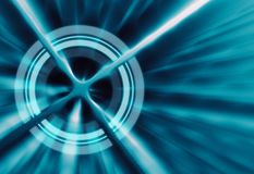 Target concept abstract futuristic background Stock Photography