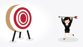 Target Concept Royalty Free Stock Photography