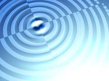 Target concept ripple effect background Stock Image