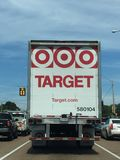 Target Corportation Supply Truck Royalty Free Stock Images