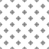 Target crosshair pattern, simple style Stock Images