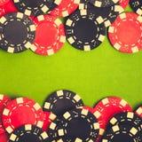 target3549_0_ czerwień czarny układ scalony Zdjęcie Stock