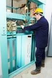 target3398_0_ dźwignięcia machinist mechanizmu spanner Obraz Stock