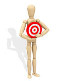 The target stock illustration