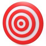 Target 3d illustration Royalty Free Stock Photos