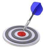 Target and dart Royalty Free Stock Photos