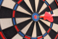 Target and dart Stock Image