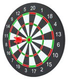 Target dart with arrow Royalty Free Stock Image