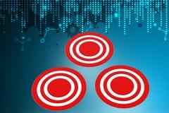 Target dart Royalty Free Stock Photos