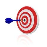 Target. Dart target with a dart arrow Stock Image