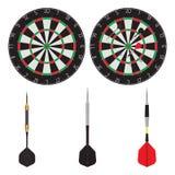 Target and dart. Darts. Sport stock illustration