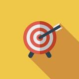 Target with dart Stock Photos