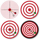 Target and dart Royalty Free Stock Photo