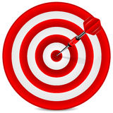 Target  and dart Royalty Free Stock Photos
