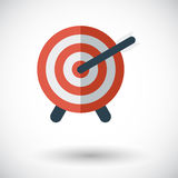 Target with dart Stock Image