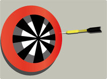 Target and dart Royalty Free Stock Images