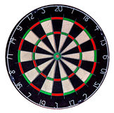 Target dartboard isolate on white background Stock Photos