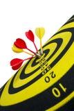 Target darts stock photos