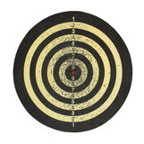 Target for darts. Target for darts on a white background Stock Photography