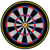 Target for darts Royalty Free Stock Images