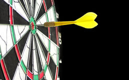Target with darts. Bull's-eye Royalty Free Stock Photos