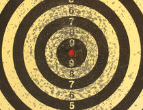 A target for darts close up. Stock Images