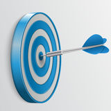 Target with darts, 3d icon Stock Photo