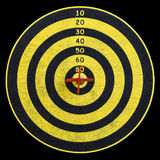 Target for darts Royalty Free Stock Image