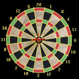 Target for darts Royalty Free Stock Photos