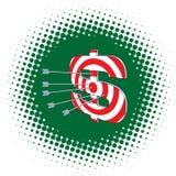 Target Dollar Royalty Free Stock Photography
