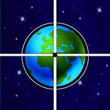 Target Earth Royalty Free Stock Images