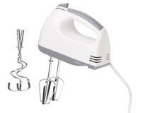 target2415_1_ elektryczną rękę tła blender odizolowywał ścieżka biel Fotografia Royalty Free