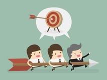Target. Eps 10  illustration Royalty Free Stock Photo
