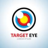 Target eye symbol icon Royalty Free Stock Image