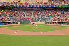 Target Field Royalty Free Stock Photography
